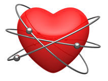 red-heart-form-atom