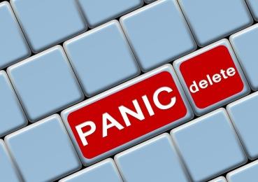delete panic